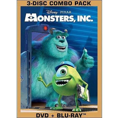 Monsters Inc Blu Ray Walmart Com Monsters Inc Movie Monsters Inc Dvd Kids Movies