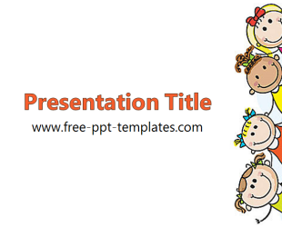 Kids Ppt Template Free Point Templates