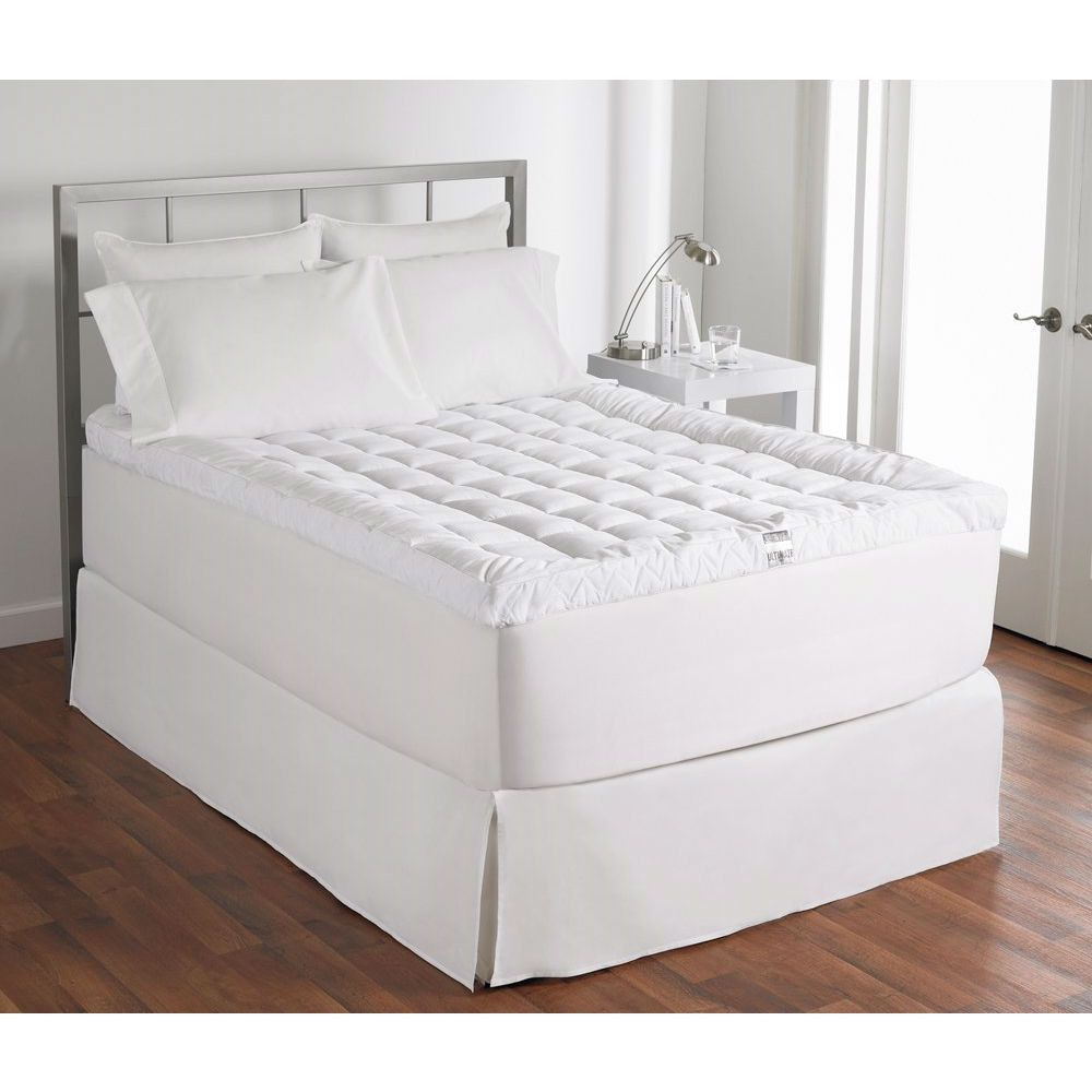 queen size 400 thread count cuddle bed mattress topper bed