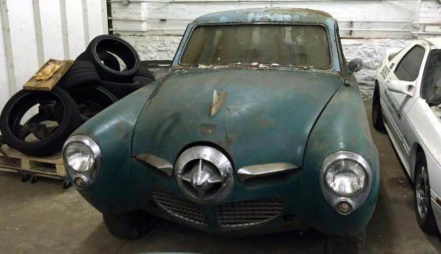 Pointy Project 1950 Studebaker Champion Studebaker Classic Racing Car Barn