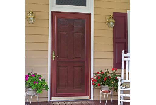 Storm Door Patio Door Installation Storm Door Entry