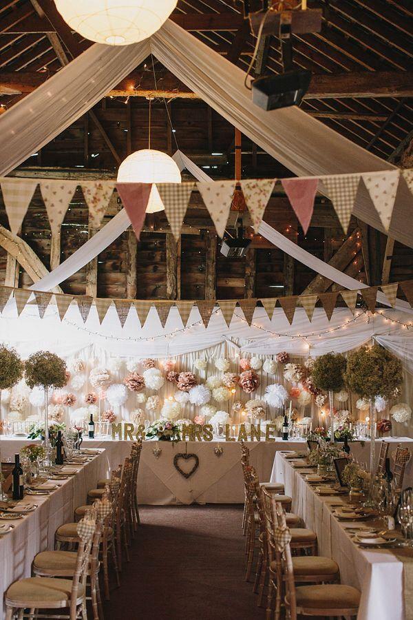 Quaint Barn Themed Weddings