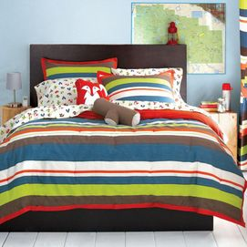 whole home kids(tm/mc) 'scout' collection sheet set - sears