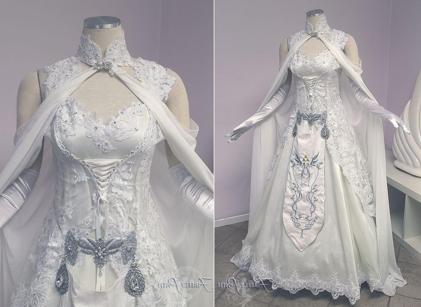Princess Zelda Wedding Dress