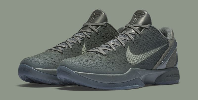 Official Images Of The Nike Kobe 6 Black Mamba
