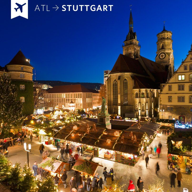 I Want To Visit Germany In German: Everyone Should Visit The Christmas Market In Stuttgart