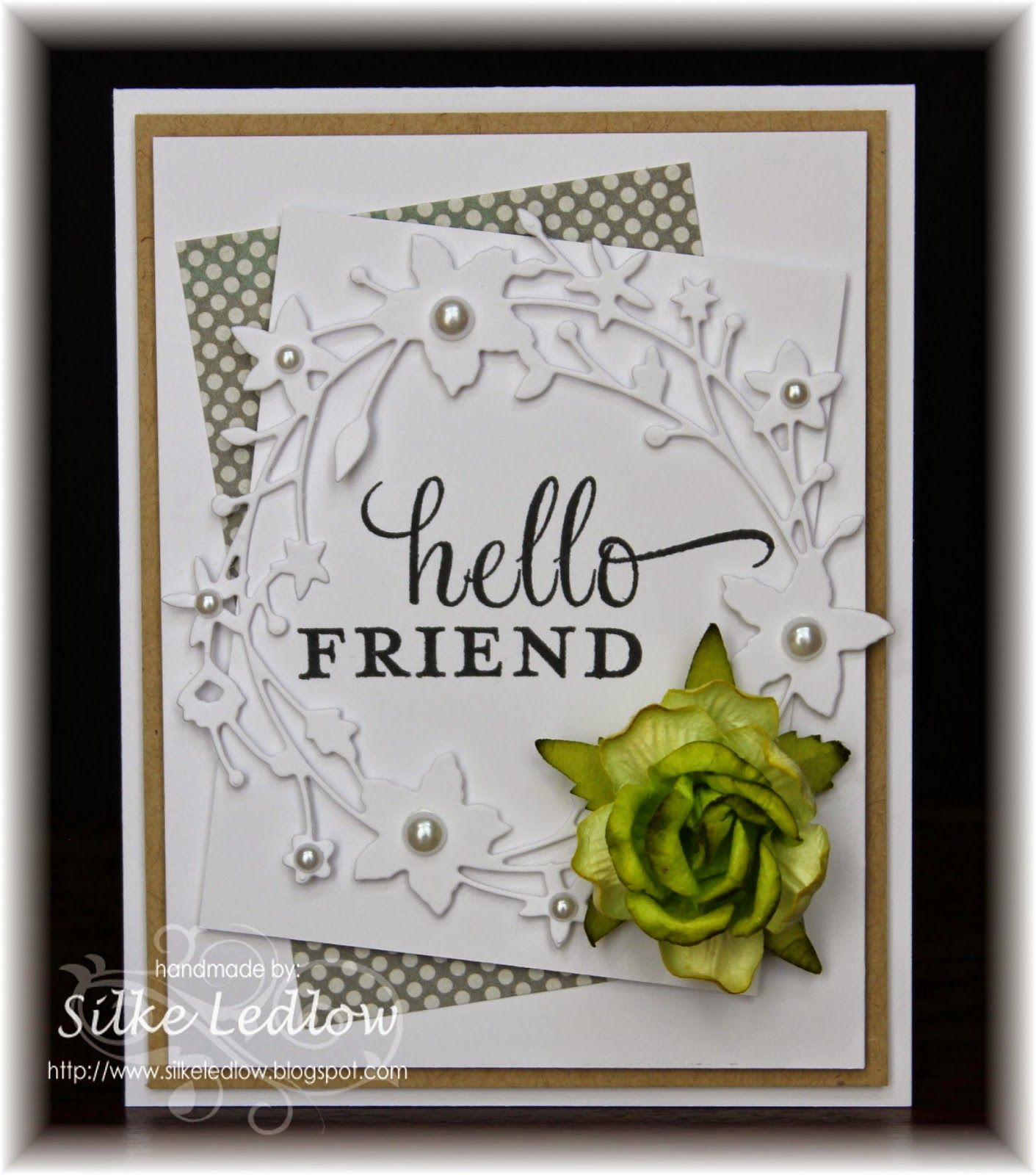 Cqc hello friend cards easy cards and friendship cards