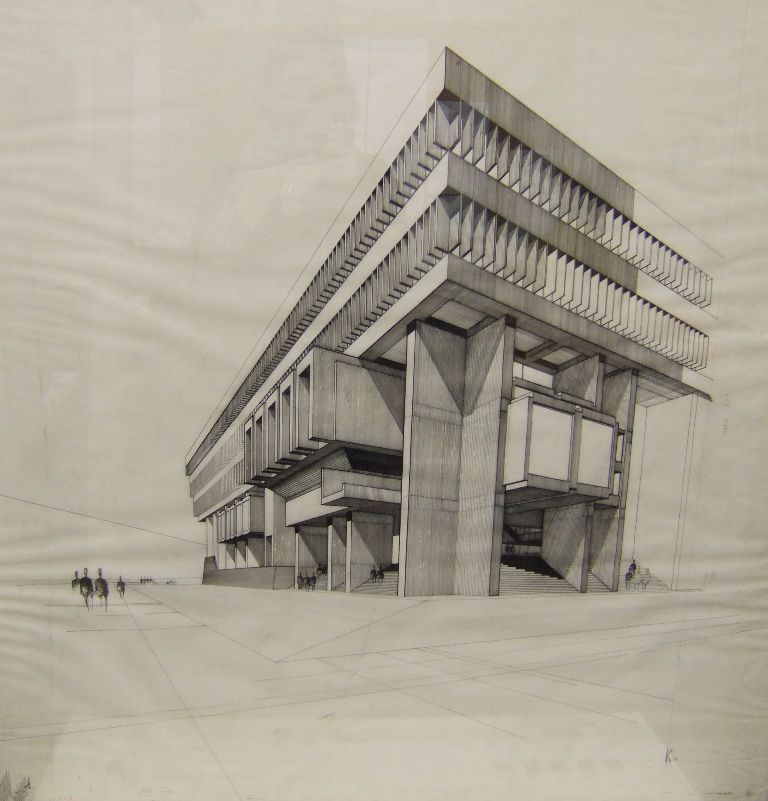 Architectural Drawing Sketch 527c793199d4f8accced03ee3e1ecb23 (768×801) | sketch arq