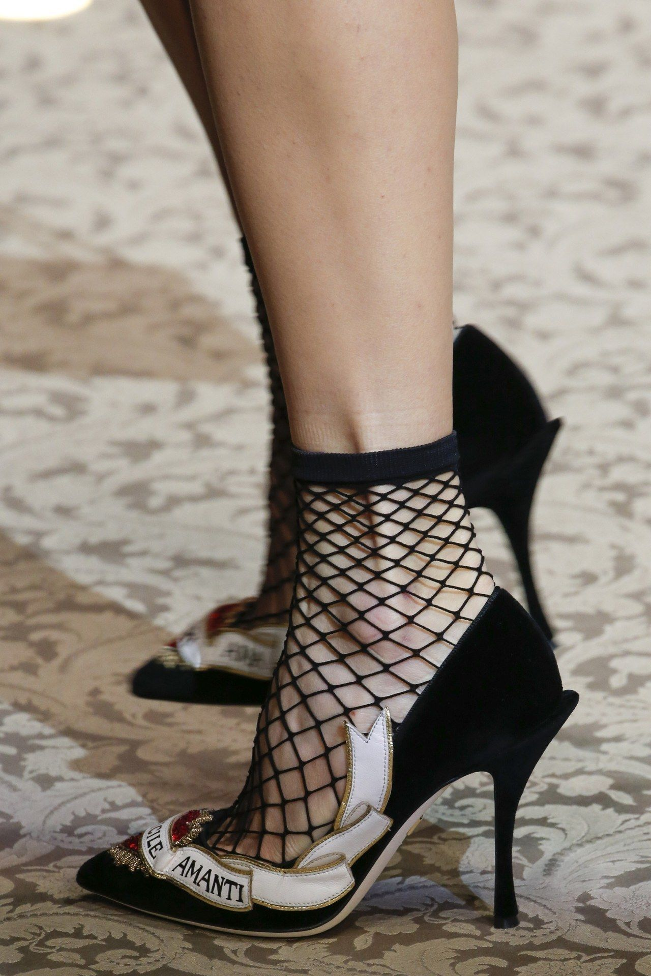 Alena Podloznaya for Dolce & Gabbana FW 2017 (con immagini