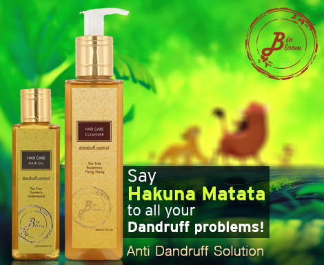 Try out our Dandruff solution, you can let go of worrying ...