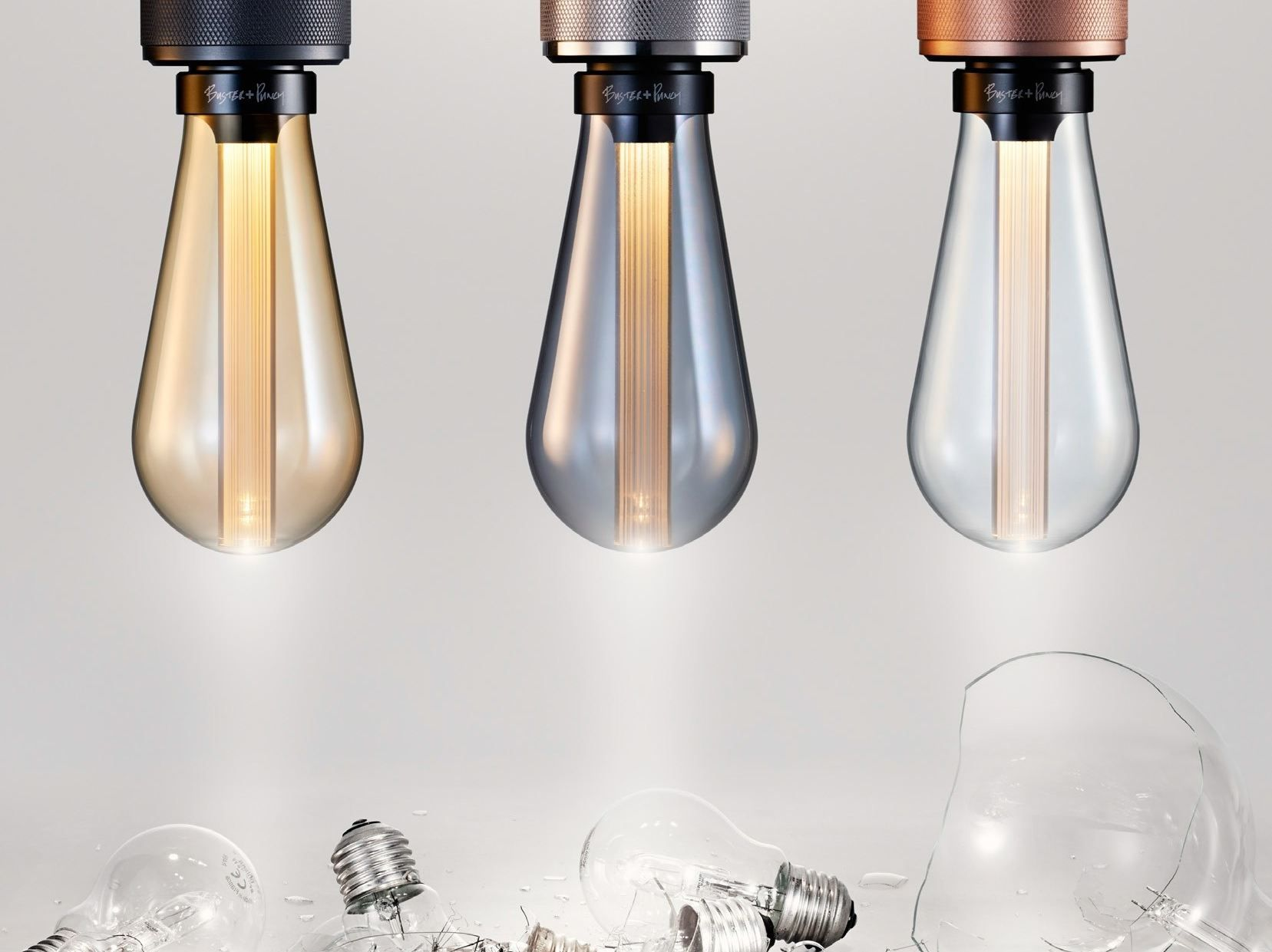 LED light bulb with dimmer LED BUSTER BULB by Buster Punch bulb