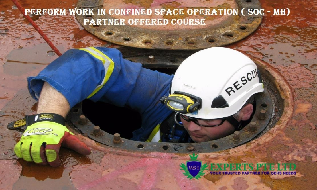 Legislation and Code of Practice on confined space work