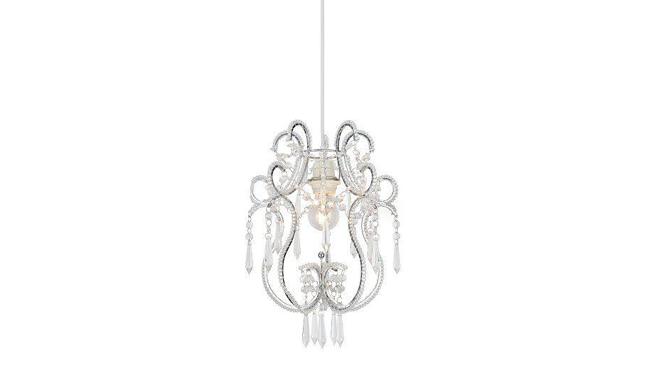 Ornate Jewelled Pendant Light Shade Home Décor