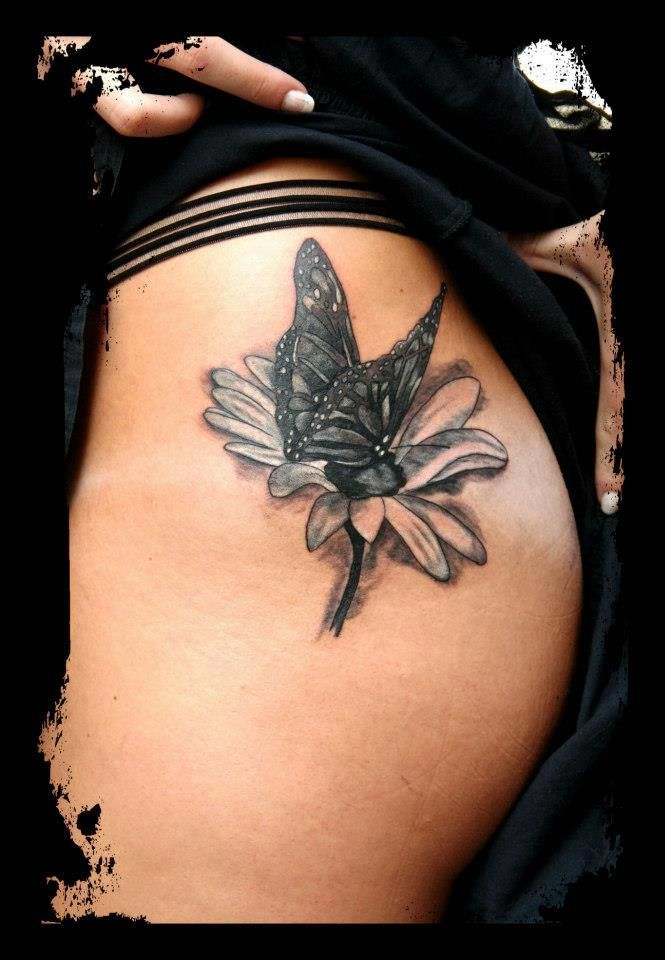 Gerber Daisy Tattoo: Wow This Is Exactly What I Want... Color Of Course Though