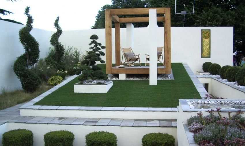 Modern landscape design examples design principles for Contemporary landscape architecture