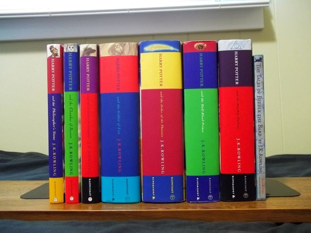 Harry Potter Series J K Rowling Complete Set Of 7 Hcs Beedle The Bard