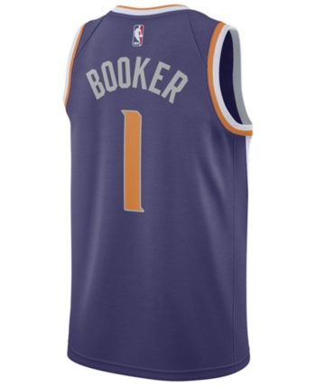 5c8bdc6e6c5c0f Nike Men s Devin Booker Phoenix Suns Icon Swingman Jersey - Purple 3XL