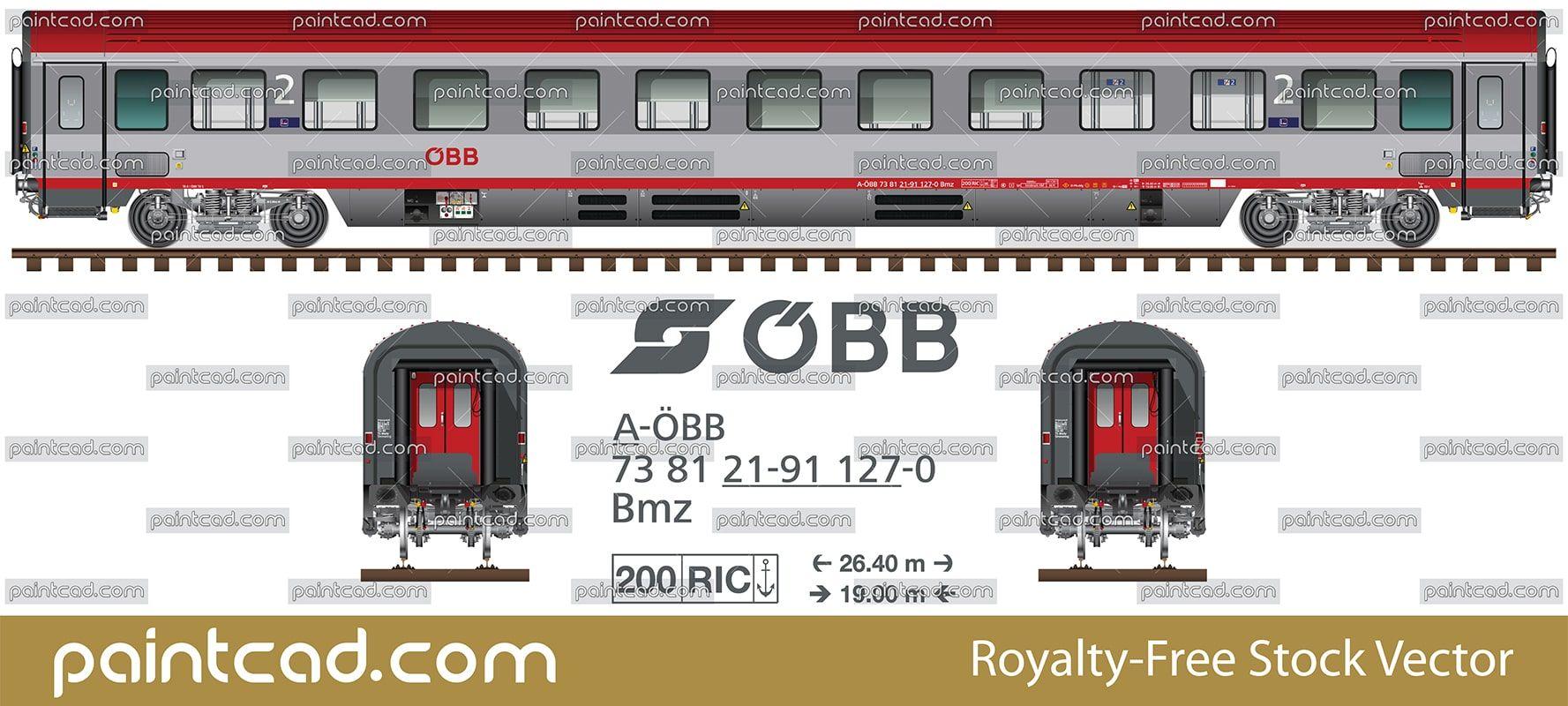 European Standard Coach With Coupe Seats For Non Smokers Wagon Railway Rail Car