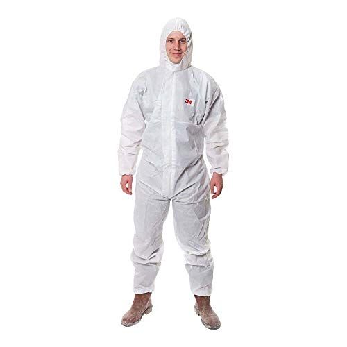 3m protective coverall white 4515 w xl safety clothing on cheap insulated coveralls for men id=58977