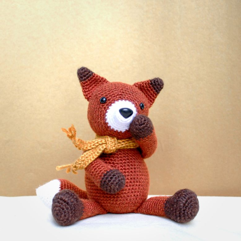 Fearless Fausto the Fox – Amigurumi Pattern