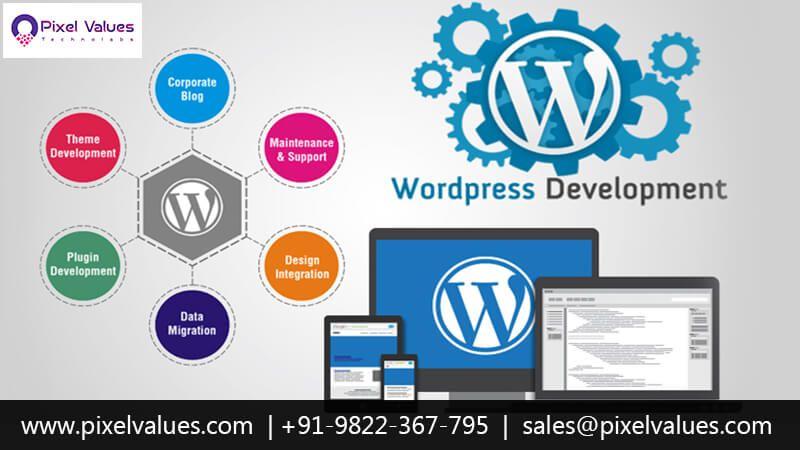 Pixel Values Technolabs Is The To Wordpress Development Company In India Usa Uae We Offers Wordpress Web Deve In 2020 Wordpress Web Design Web Design Wordpress Web