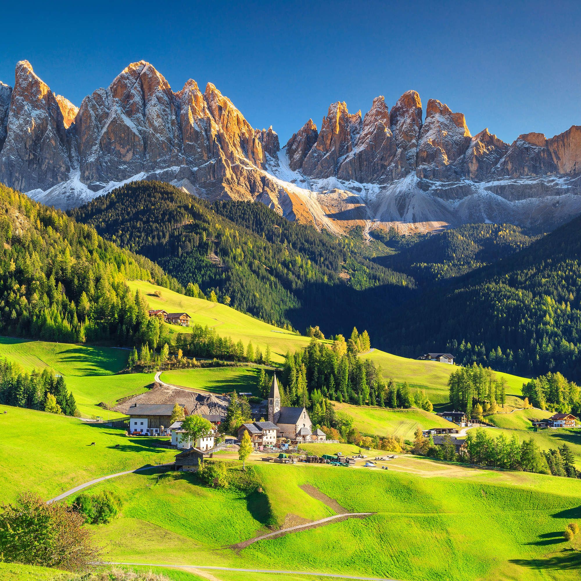 The Most Breathtakingly Beautiful Small Towns In The World Alpine Village Dolomites Italy