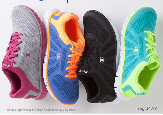 ba04825f53f65 Payless Sale on Champion Athletic Shoes – Starting at  14.99! Not too bad!  Wonder about their quality