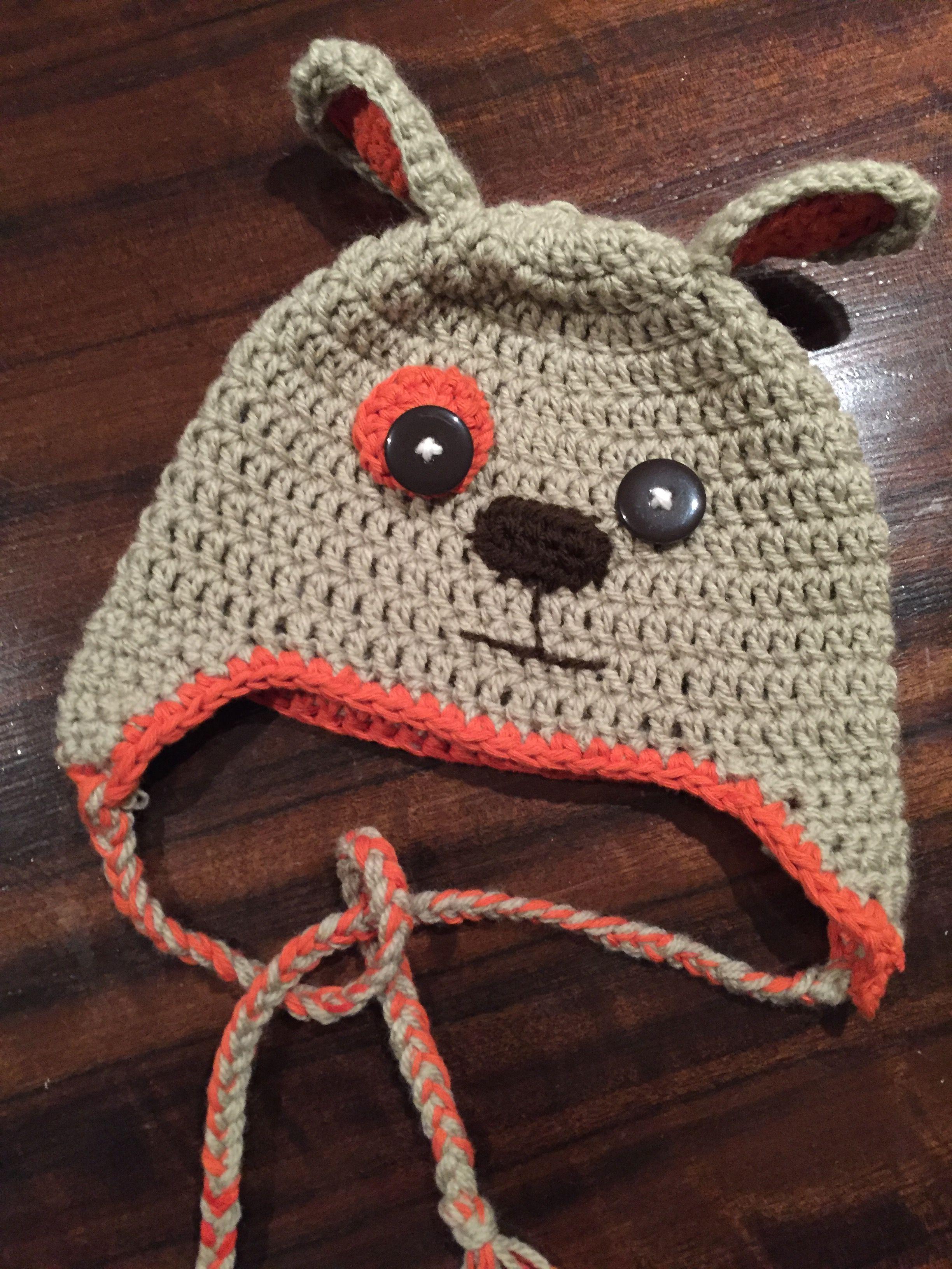 Puppy hat made it pinterest patterns and crochet crochet puppy hat bankloansurffo Gallery