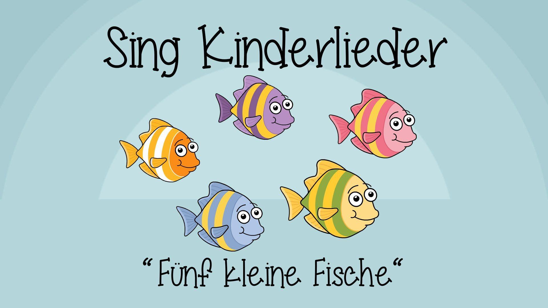 5 Kleine Fische Bewegungen