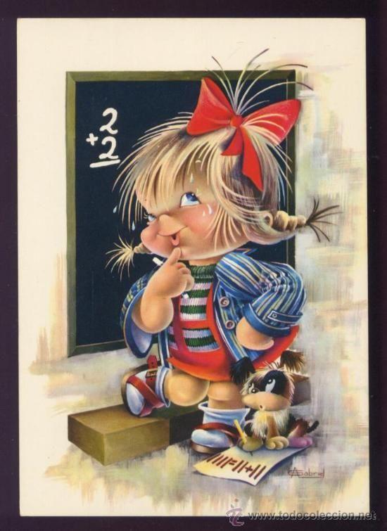 Gabriel | Детские картинки, Иллюстрации, Веселые картинки
