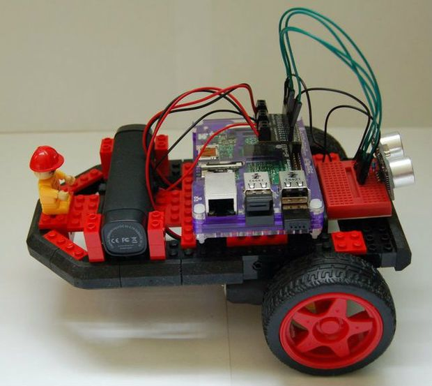 Lego Chassis for Raspberry Pi Robot | Raspberry Pi | Raspberry