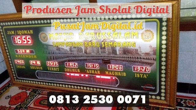 Jam Dinding Adzan Di Palembang Wa 0813 2530 0071 Jual Jam Iqomah