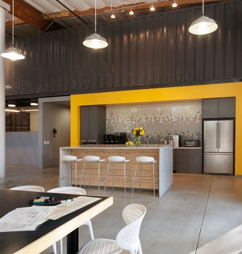 Küche im Büro für die Mitarbeiter einbauen | Kitchen | Pinterest | {Büro küche design 13}