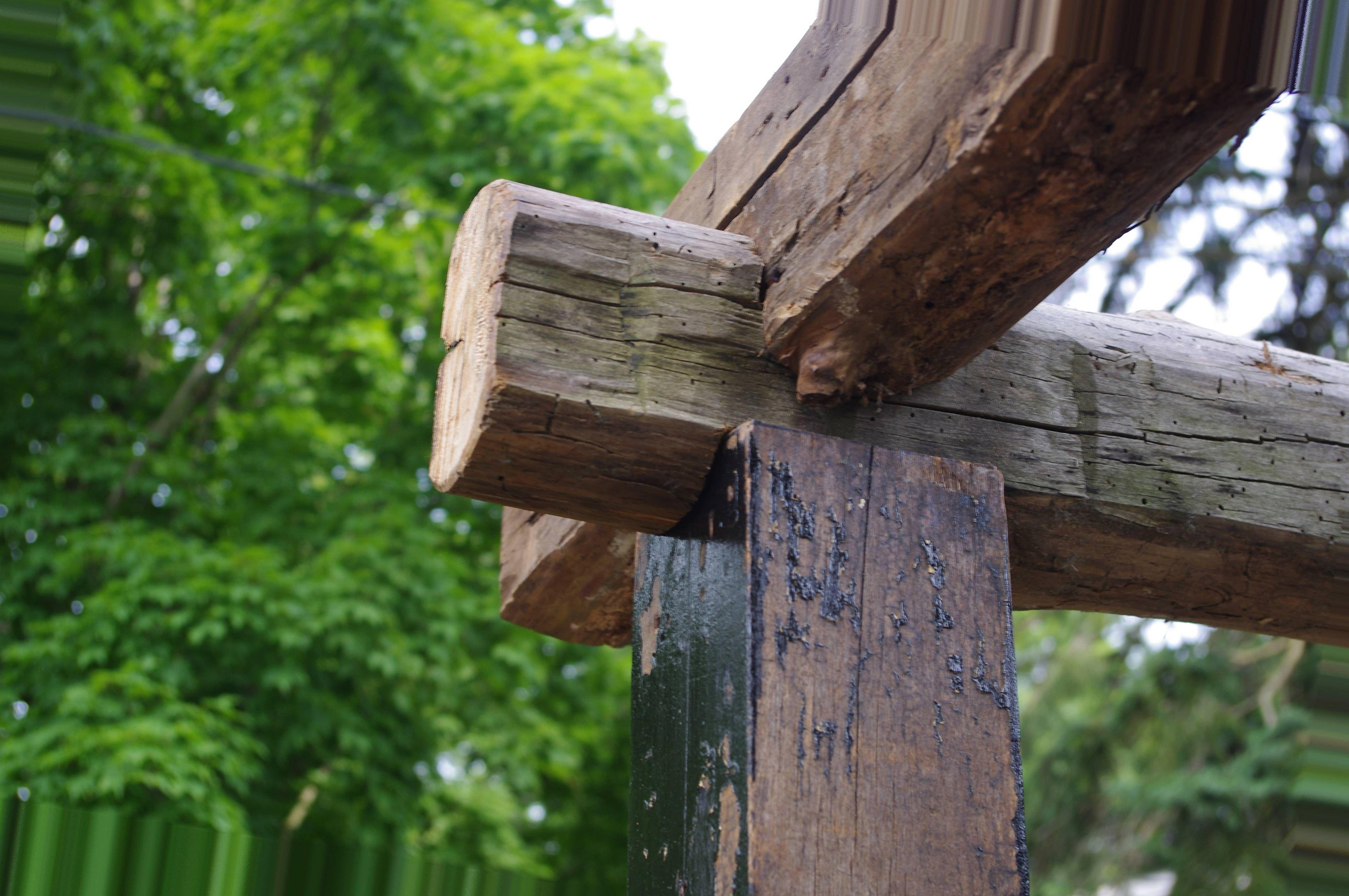 Old Barn Wood Gazebo Frame Reclaimed Wood Products
