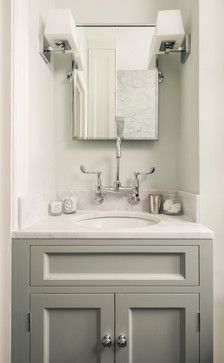 Fulham Garden Flat Traditional Bathroom London By Lisette Voute Designs