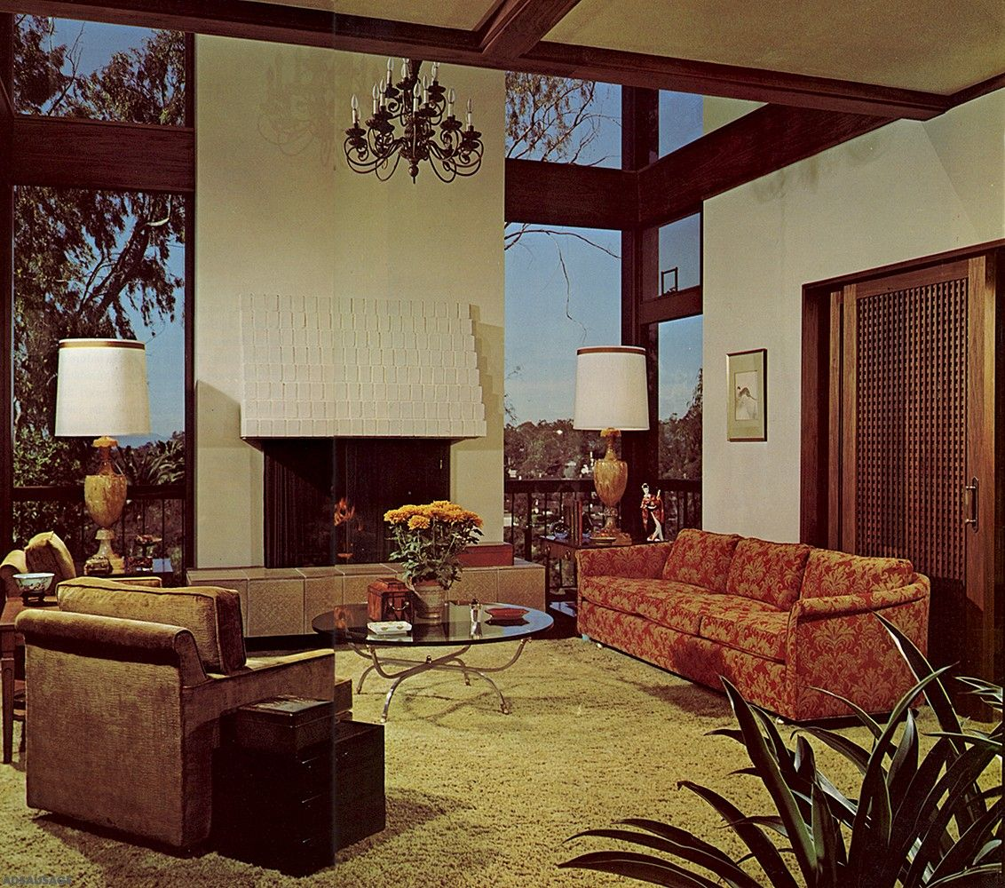 Best Design 1960 1970 Mid Century Living Room Living Room 400 x 300