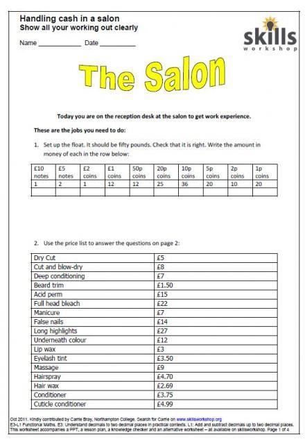 beauty salon exercises - Buscar con Google   Salony Urody ...