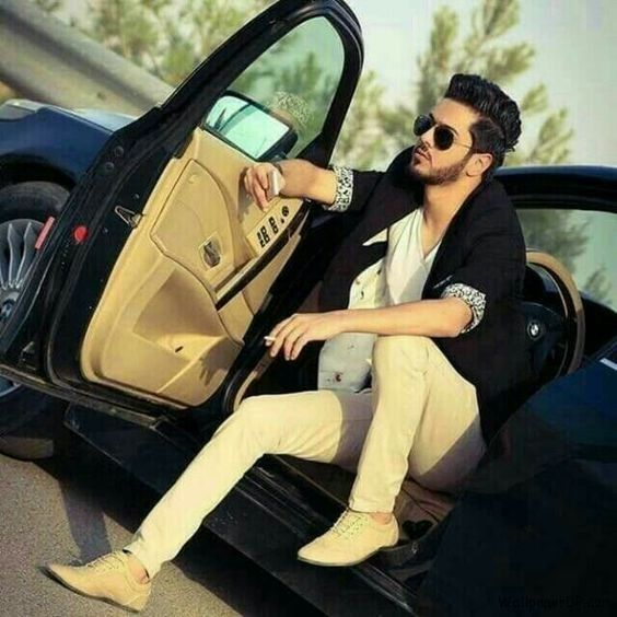 Punjabi Girl With Gun Hd Wallpaper Image For Handsome Boy In Car Cool And Stylish Fb Dp For