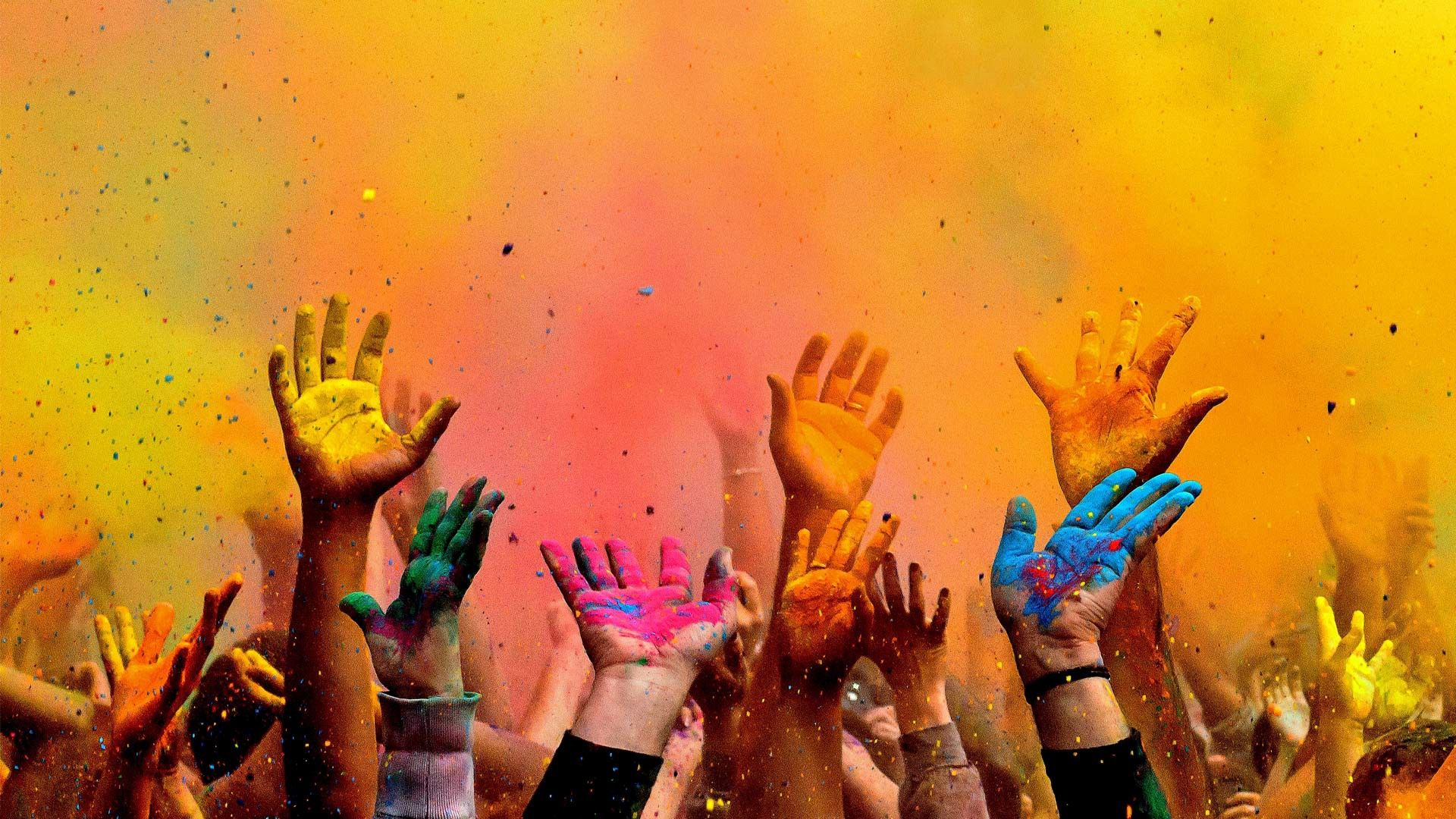 Holi Festival of Color a day to love, mend past