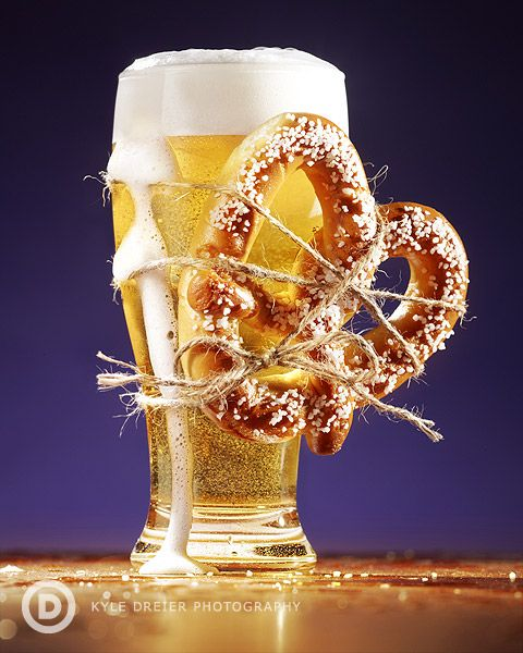 Fabulous food and beer pairing photography!