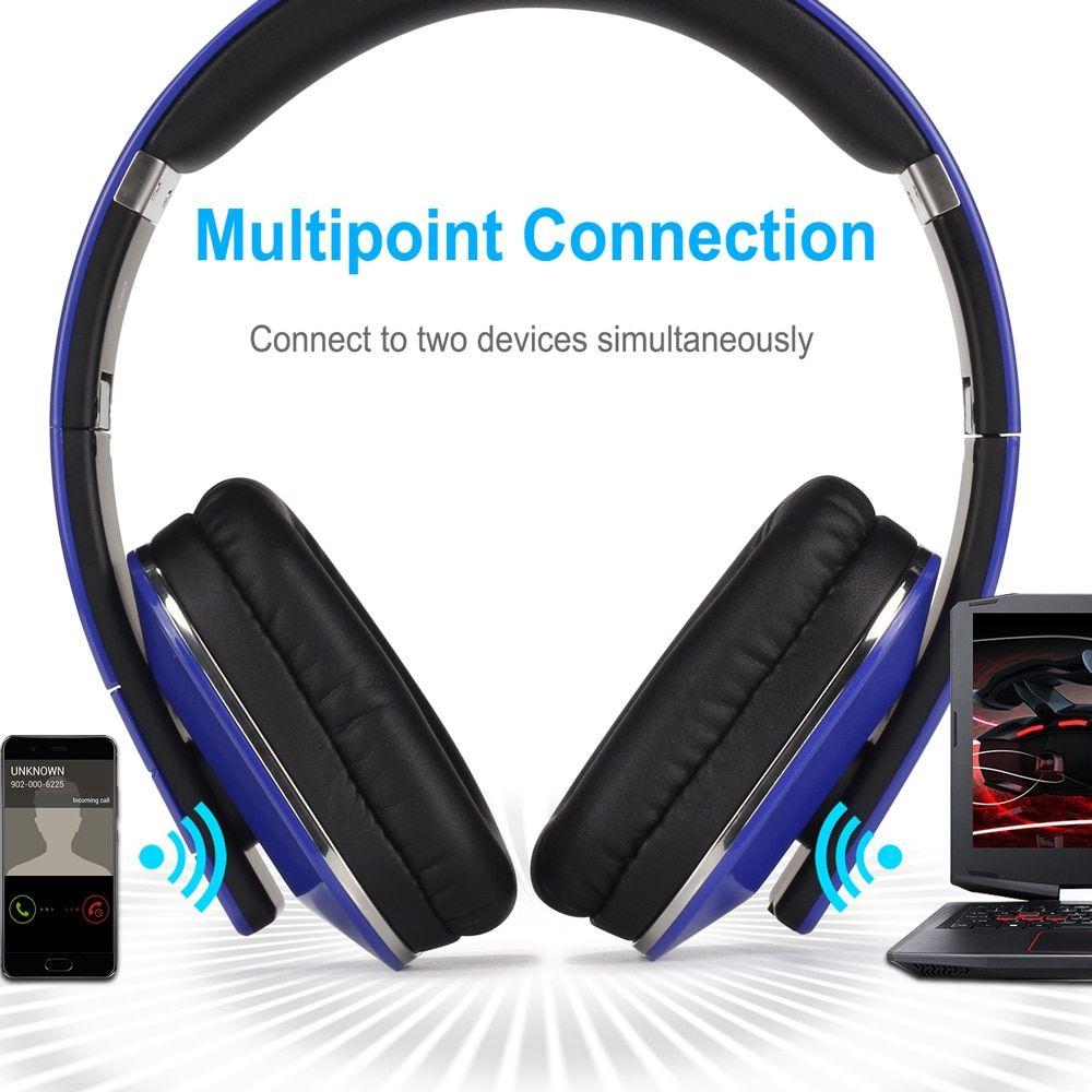 EP650 Bluetooth Wireless Headphones with aptX / NFC / 3