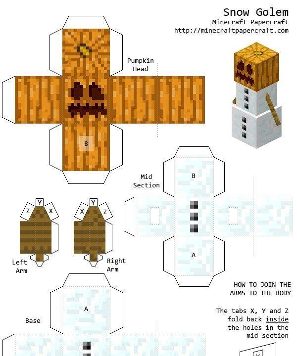 Minecraft en papel papercraft taringa cumple vicente for Como hacer la casa de plantas vs zombies en minecraft