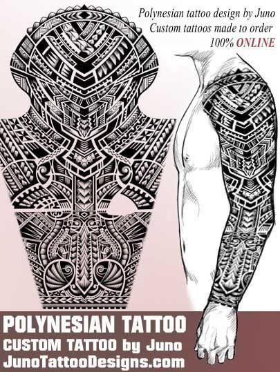 I Can Do A Custom Polynesian Samoan Tattoos & Templates