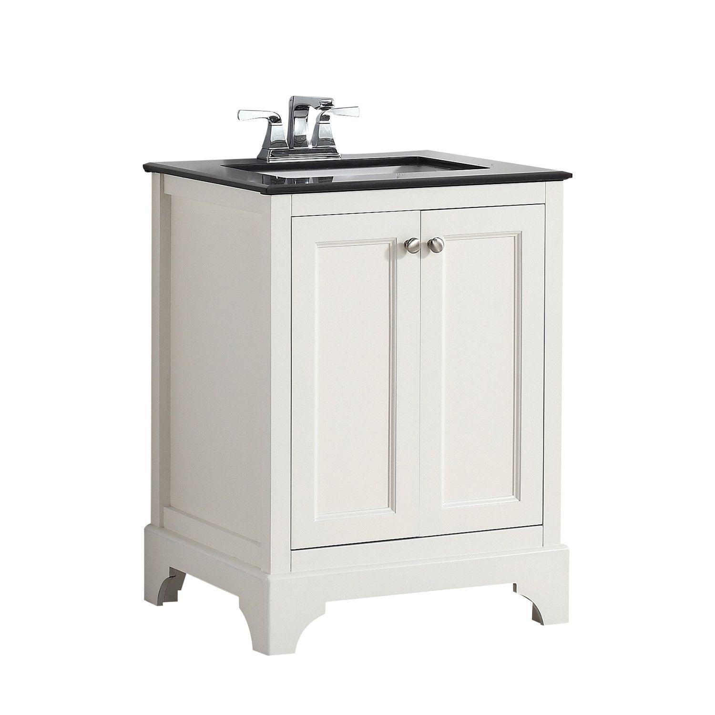 24 Inch Cambridge Soft White Bath Vanity
