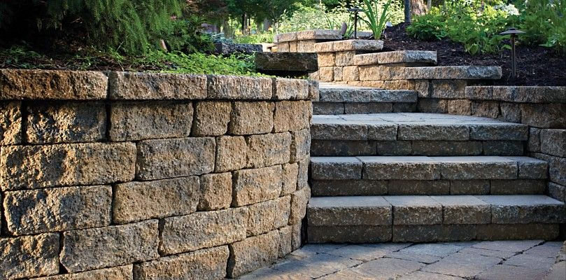 Retaining Wall Raleigh Cary Durham Chapel Hill Nc Paver Steps