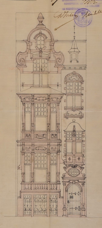 Schaerbeek - Rue Léopold Courouble 20 - HEMELSOET François (alias Frans)