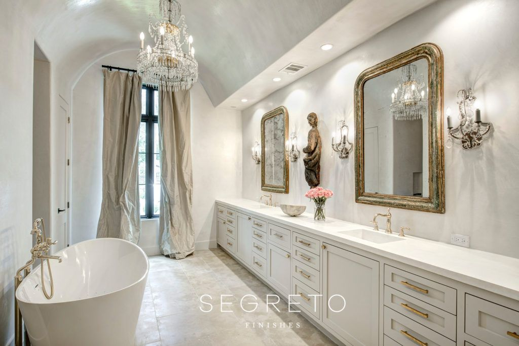 French Modern A Beautifully Edited Home Segreto Finishes French Country Bedrooms French Country Decorating French Country Bathroom