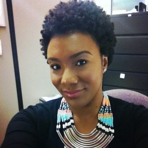 Ebony Natural Hair Style Icon Black Natural Hairstyles Natural Hair Styles How To Curl Short Hair