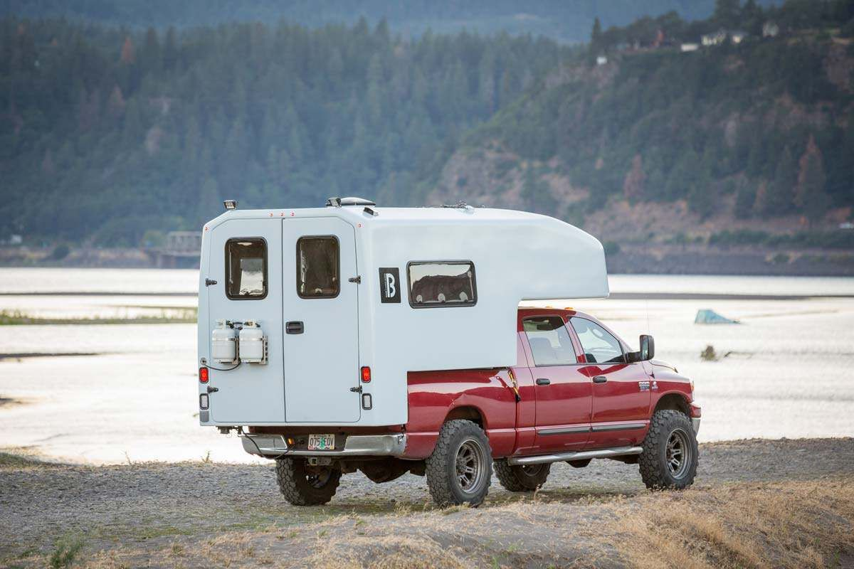 Bahn Camper Works Located In Hood River Or Reinvents The Truck