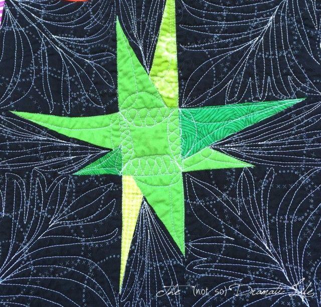 Modern Improv Wonky Star Block Star Quilt Patterns Star Quilts Quilt Stitching
